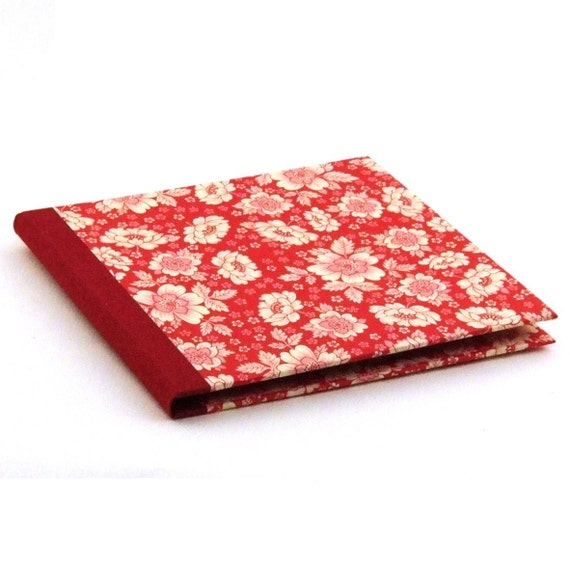 Nauli CD-Cover in red CD case English flower