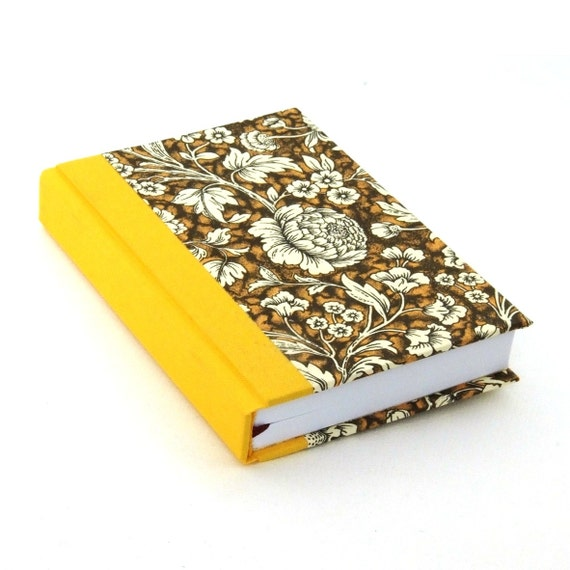 floral Day Planner 2016 brown yellow