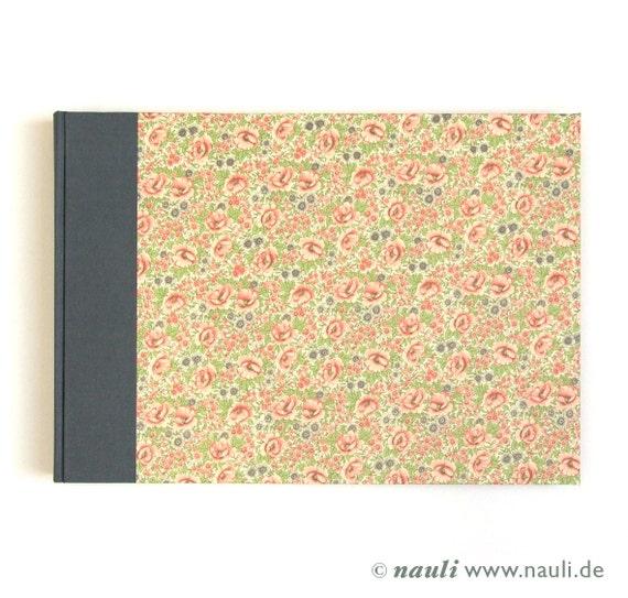 Heirloom Wedding Album, Large Photo Album, flower meadow