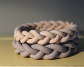 Baked Clay braided Bangle Set