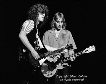 Ian Hunter and Mick Ronson, 1979