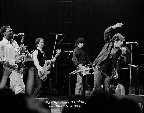 Bruce Springsteen And The E Street Band 1978