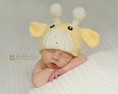 Baby boy hat, baby girl hat, crochet giraffe hat, giraffe, photo prop, baby shower gift, coming home outfit, giraffe nursery, crochet
