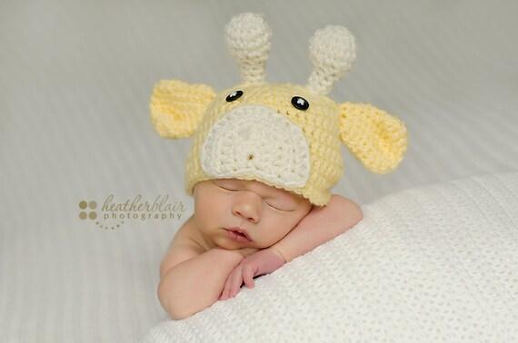 Crochet Hat Pattern Baby Giraffe Beanie Hat : Baby boy hat baby girl hat crochet giraffe hat giraffe