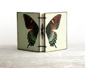 Flutterby. Butterfly Journal - Miniature - Victorian Hand-Sized Book - Nature
