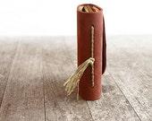 Rosette - Mini Handstitched Journal - odelae