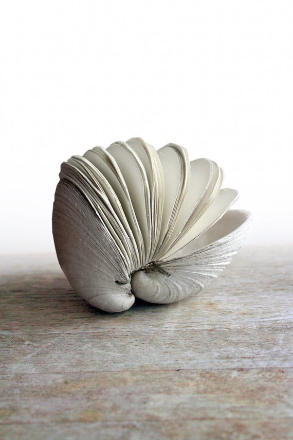 Offering No. 95 - Handstitched Clamshell Book Sculpture