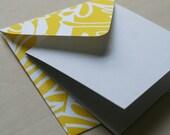 Enclosure Cards - Yellow Mums