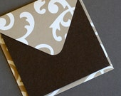 Enclosure Cards - Toffee Swirl