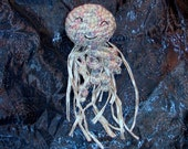 Bubbles - Crocheted Stuffed Jellyfish Doll