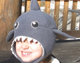 SHARK Hat for children, toddlers and infants