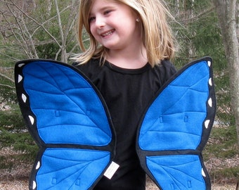 Blue Morpho Butterfly Wings for the Fluttering Type