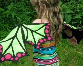 Enchanted Pixie Dragon Butterfly Wings for Little Girls Who Want to Fly
