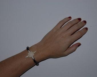 Bracalet,hand carved bone bracelet,bone bracalet