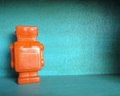 Custom Color Ceramic Robot Bank