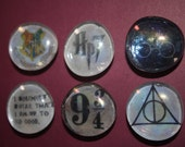 Harry Potter themed magnets