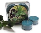Sale! Absinthe - Green Fairy - Soy Tealights