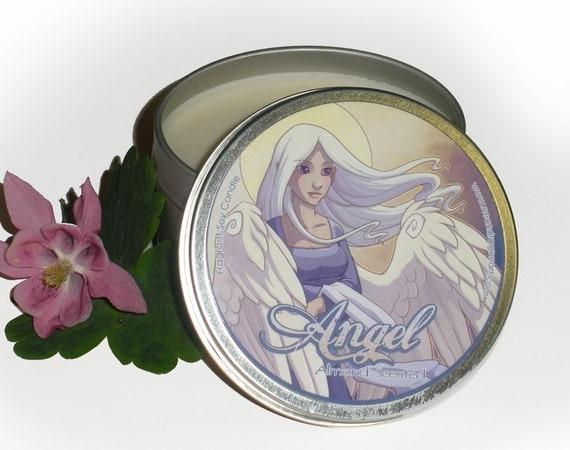 Sale! Almond - Angel - 8 oz Candle Tin