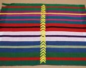 Celebration Napkin, Basket Liner, Handwoven in Guatemala, OOAK