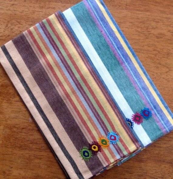 Dish Towel Sale: SALE Kitchen Towels Hand Woven And Hand By MayaMamWeavers