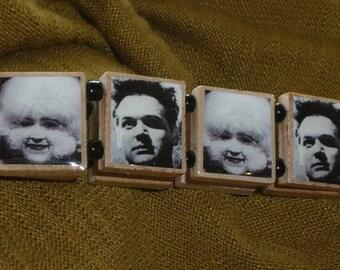 ERASERHEAD Scrabble Tile Bracelet