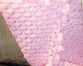Cloud 9 Baby Afghan - Made to Order - YOU CHOOSE COLOR