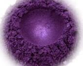 5g Mineral Eye Shadow - Violet Shimmer - Intense Violet With Shimmer
