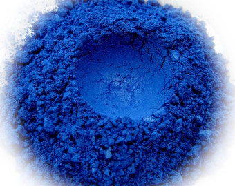 5g Mineral Eye Shadow - Azure - Vibrant Ocean Blue With Shimmer