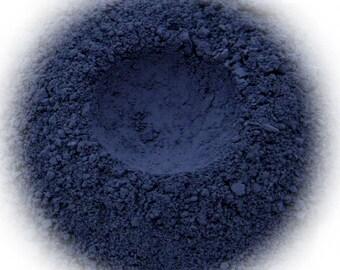 5g Mineral Eye Shadow - Storm - Dark Grey Blue With Suede Finish