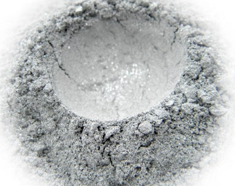 5g Mineral Eye Shadow - Silver - Sparkling Silver