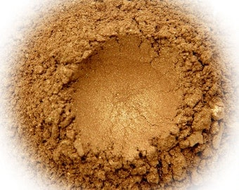 5g Mineral Eye Shadow - Bronzed - Tan Brown With Shimmer