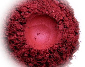 5g Mineral Eye Shadow - Ember - Red With Glow