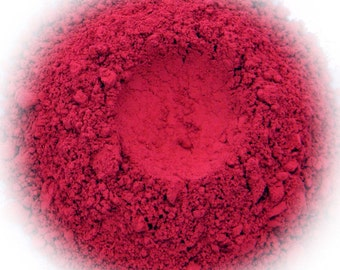 5g Mineral Eye Shadow - Red Carpet - Vivid Red