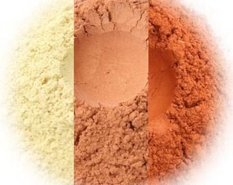 Creamsicle Eyeshadow Trio - Buttercream, Orange Frost, Valencia
