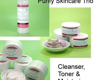 Purify Skincare Trio - For Oily/Combination Skin