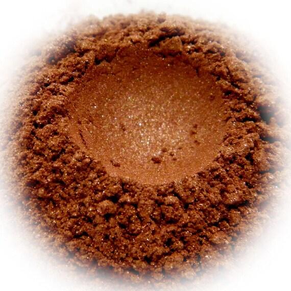 5g Mineral Eye Shadow - Copper - Metallic Sparkly Copper