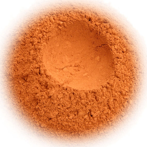 5g Mineral Eye Shadow - Tangerine - Bright Orange With Soft Finish