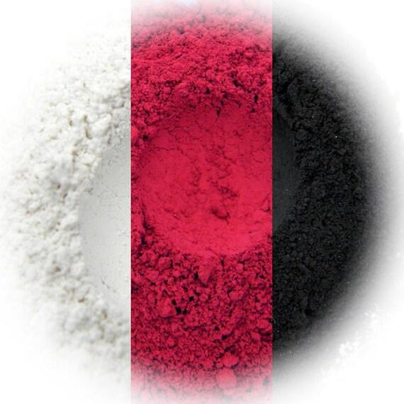 Bombshell Eyeshadow Trio - Snow, Red Carpet, Basic Black