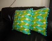 Vintage Pair of Pillows