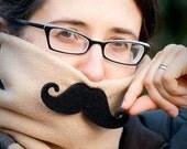 Mustachiod Fleece Neck Warmer