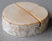Tree Branch Birch Name Card Holders - Escort Card Holders - wedding - Parties - Reunions - Meetings - Natural Rustic Wedding