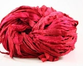 Dragonfruit Recycled Sari Ribbon