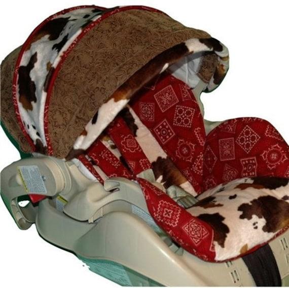 Cowboy Infant Car Seat Covers