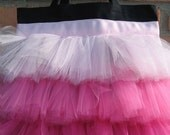 Tutu Tote Bag - 3 Fluffy Layers of Tulle