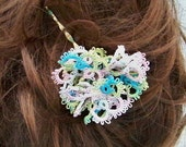 Tatted Lace Hairpin