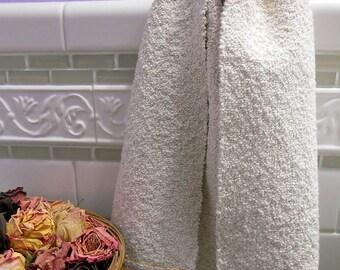 Hand Towel, Cotton, Linen
