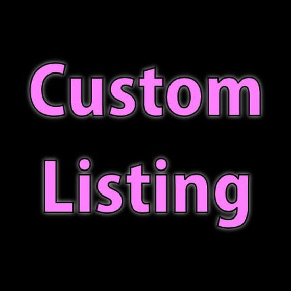 Custom listing for PixiePatchOnline