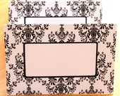 Posh Printables Damask Place Card Print A Many As You Need