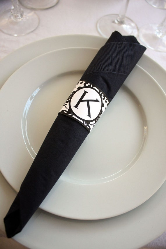 Luscious image throughout printable napkin rings