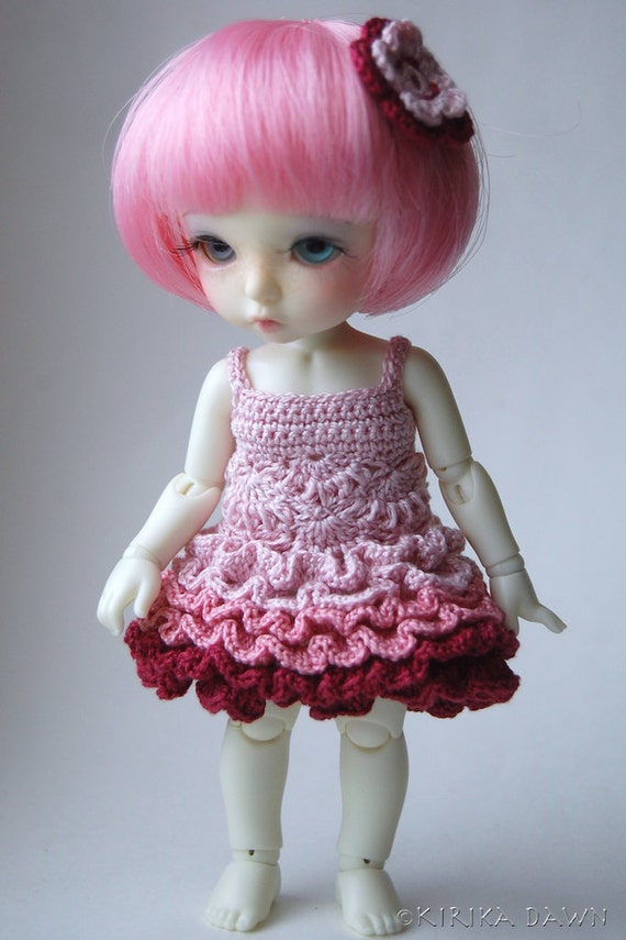 Flower Faerie - Tender Notes (Pukifee / Lati Yellow crochet dress)